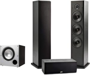 Polk Audio T Series 3.1 Channel Complete Home Theater System
